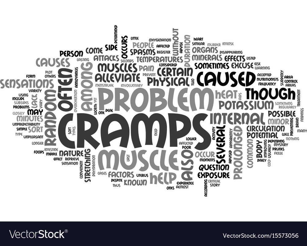 Attacks of random pain text word cloud concept