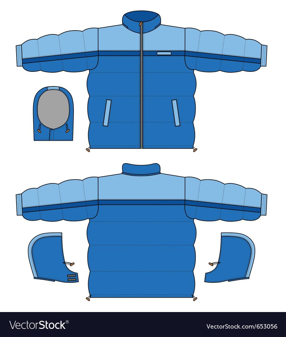 Blue Snowjacket