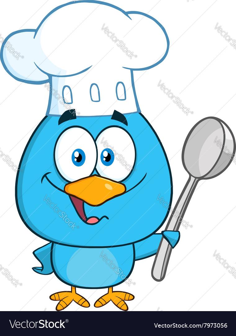 Chef Bird Cartoon