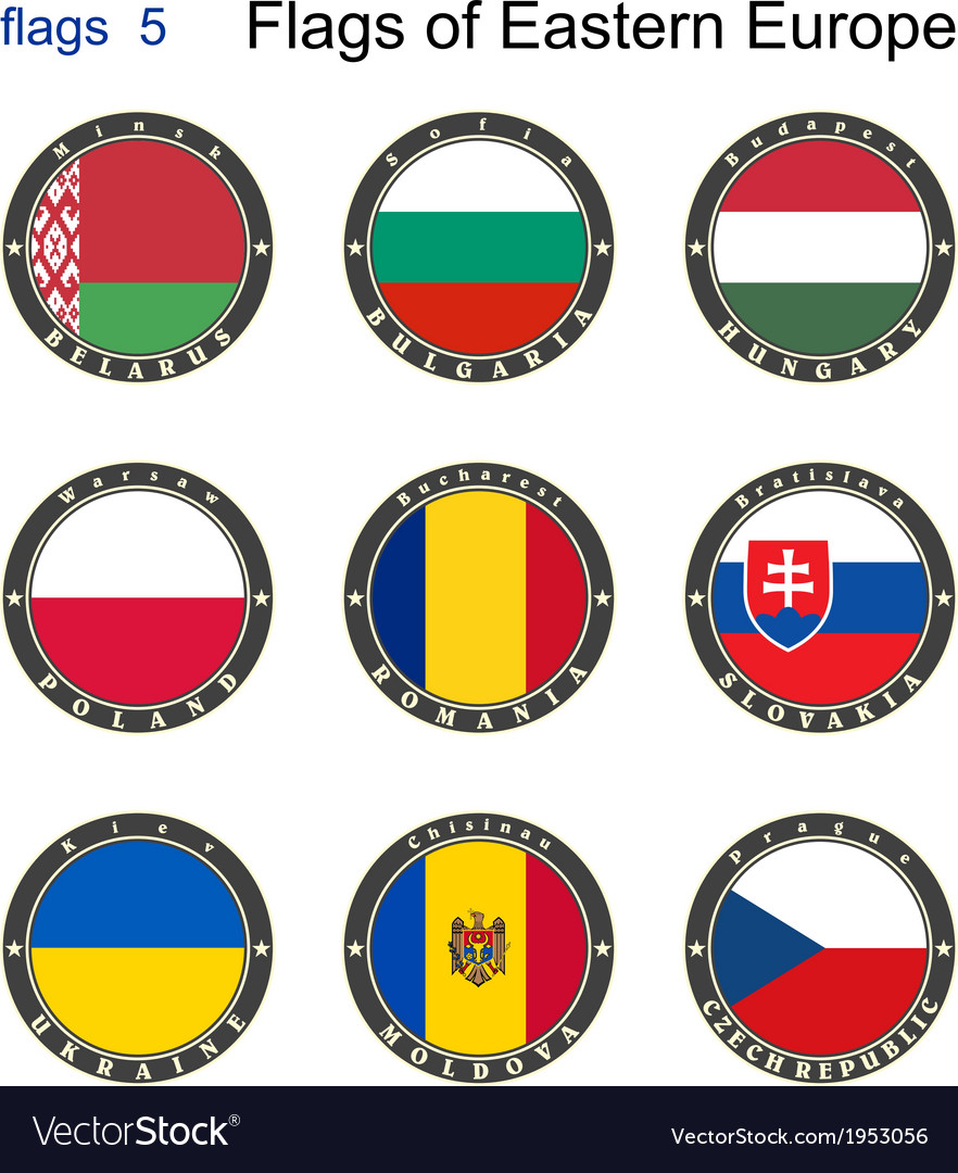 Flags of Eastern Europe
