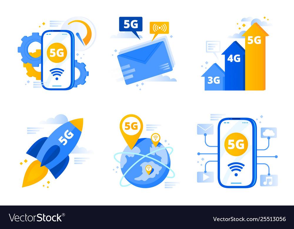 Network 5g fifth generation telecommunications