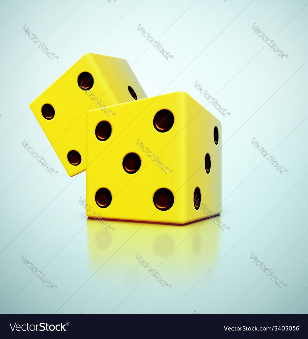 Yellow dices