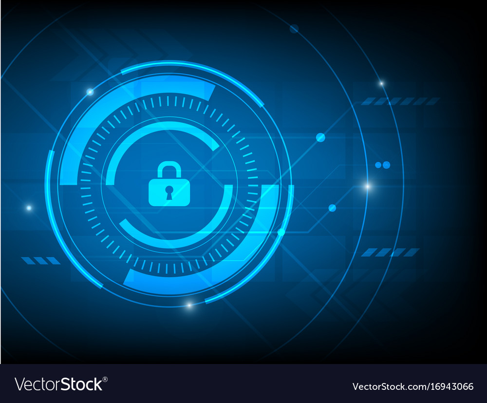Abstract security log key digital technology