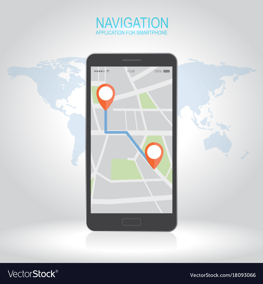 Concept of responsive navigation application