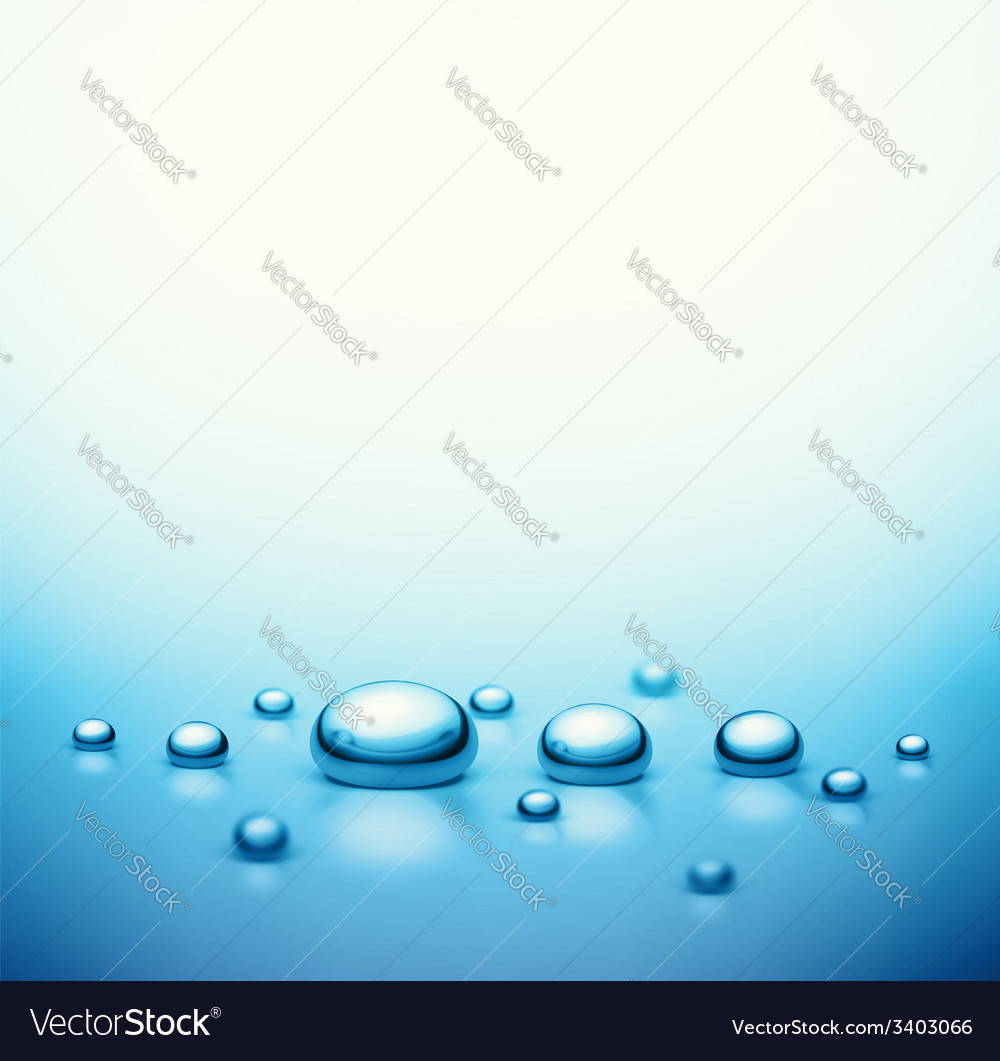 Drops Background vector image
