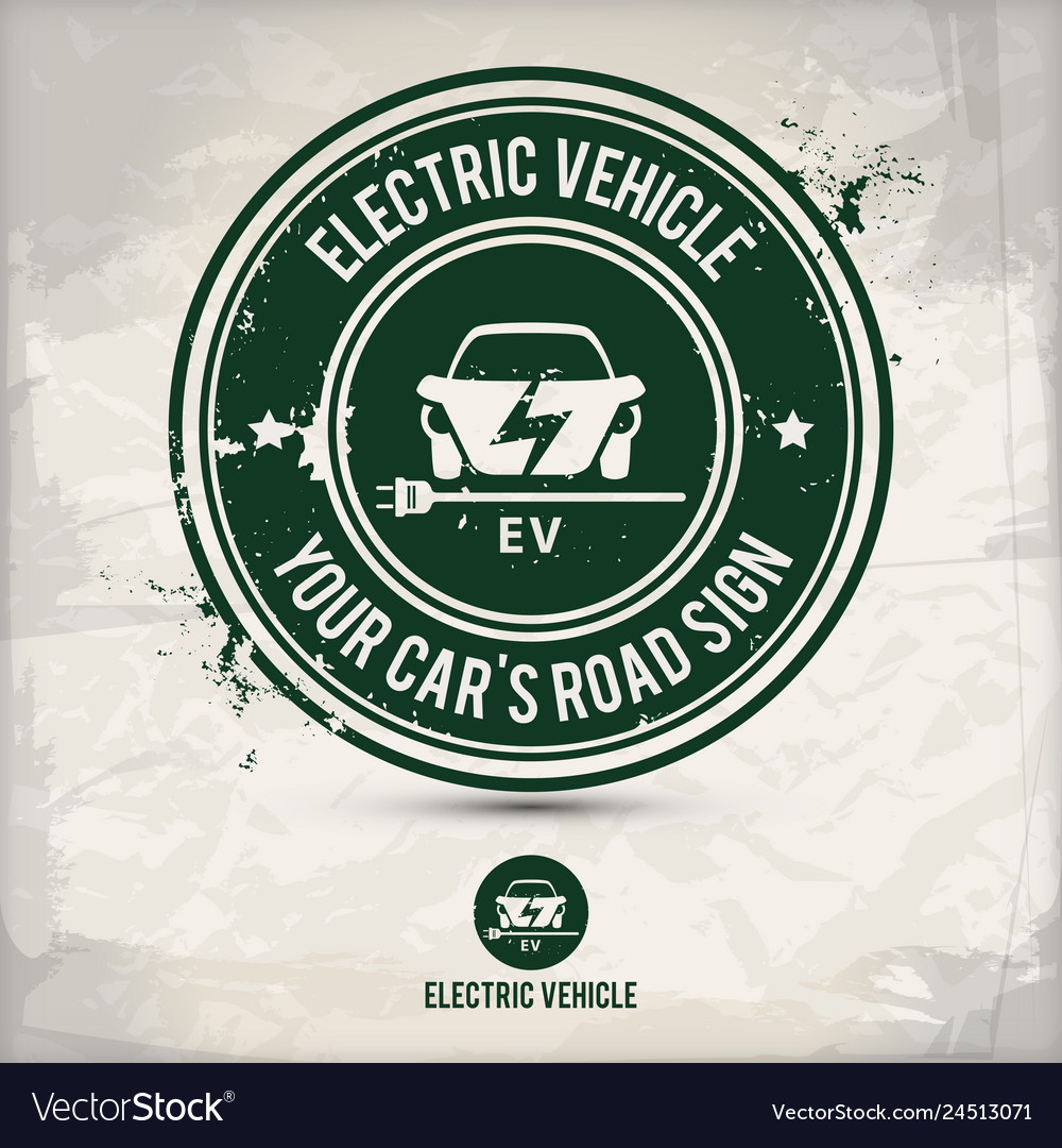 Alternative electric vehicle stamp