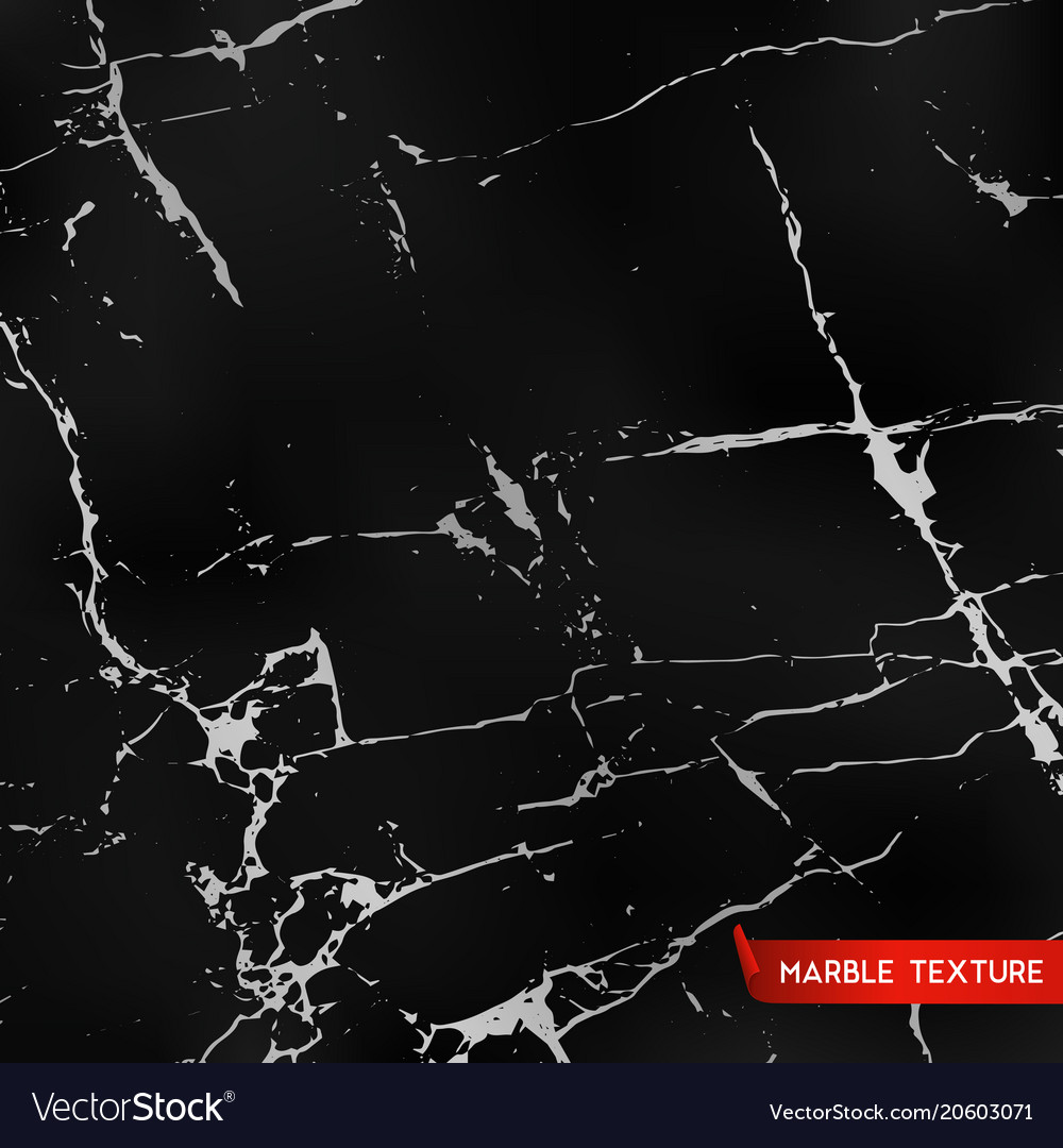 Black Marble Textures Royalty Free Vector Image