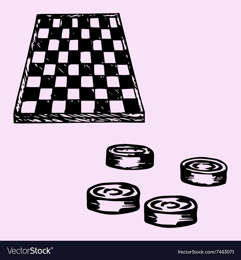 Checkers Checkers board