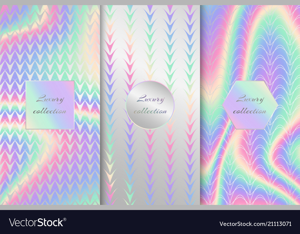 Collection of holographic backgrounds
