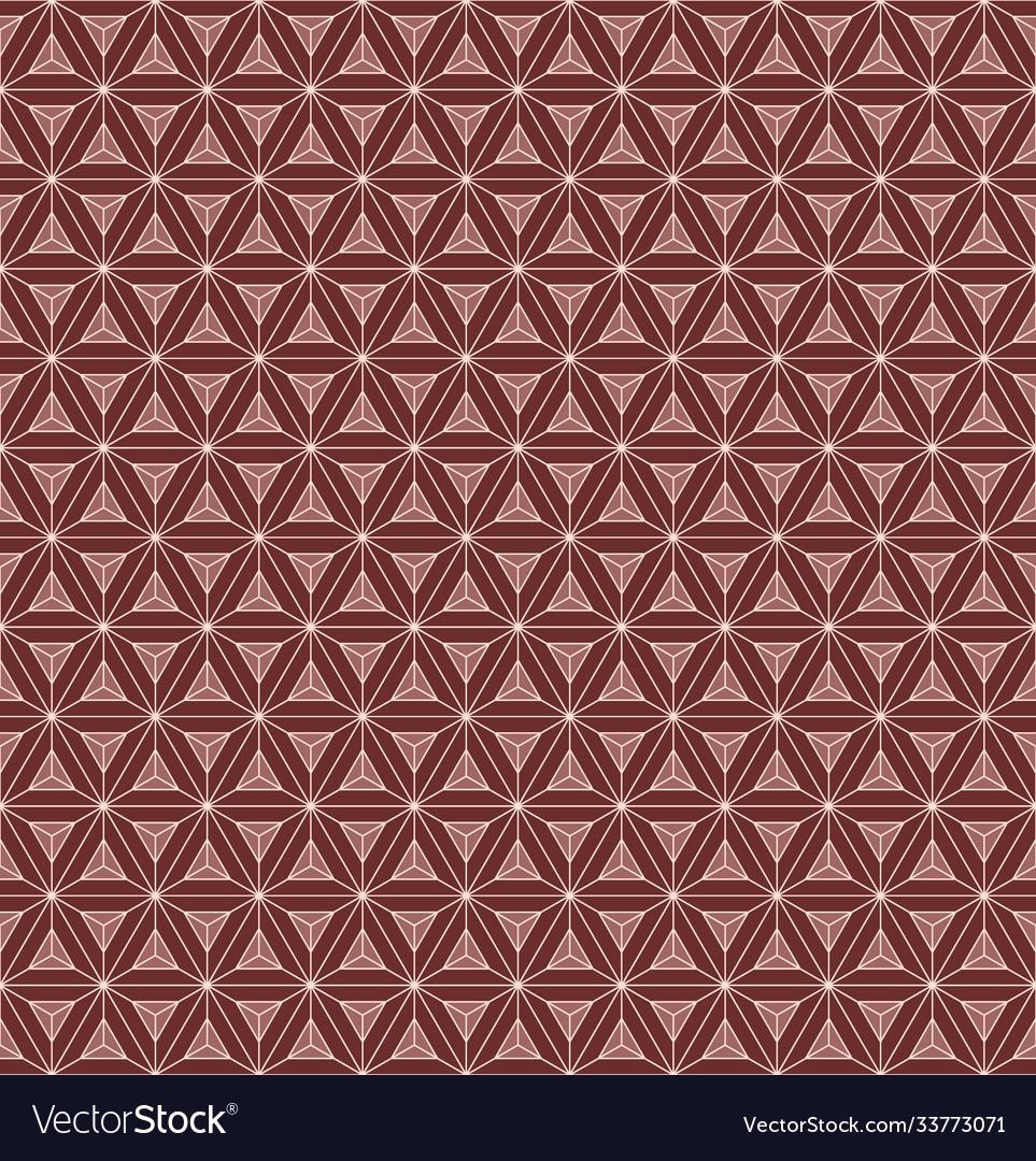 Seamless pattern triangular chocolate bar