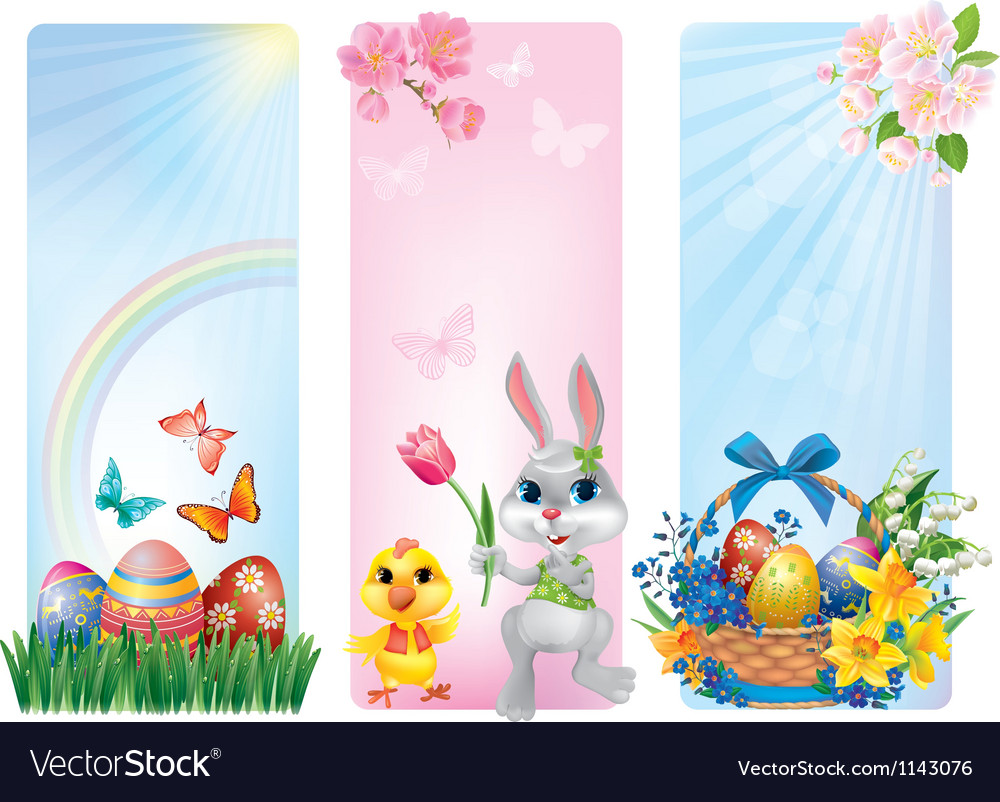 Banners for Easter