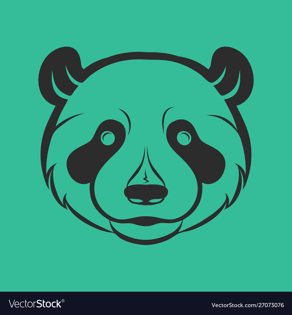 Panda logo icon design