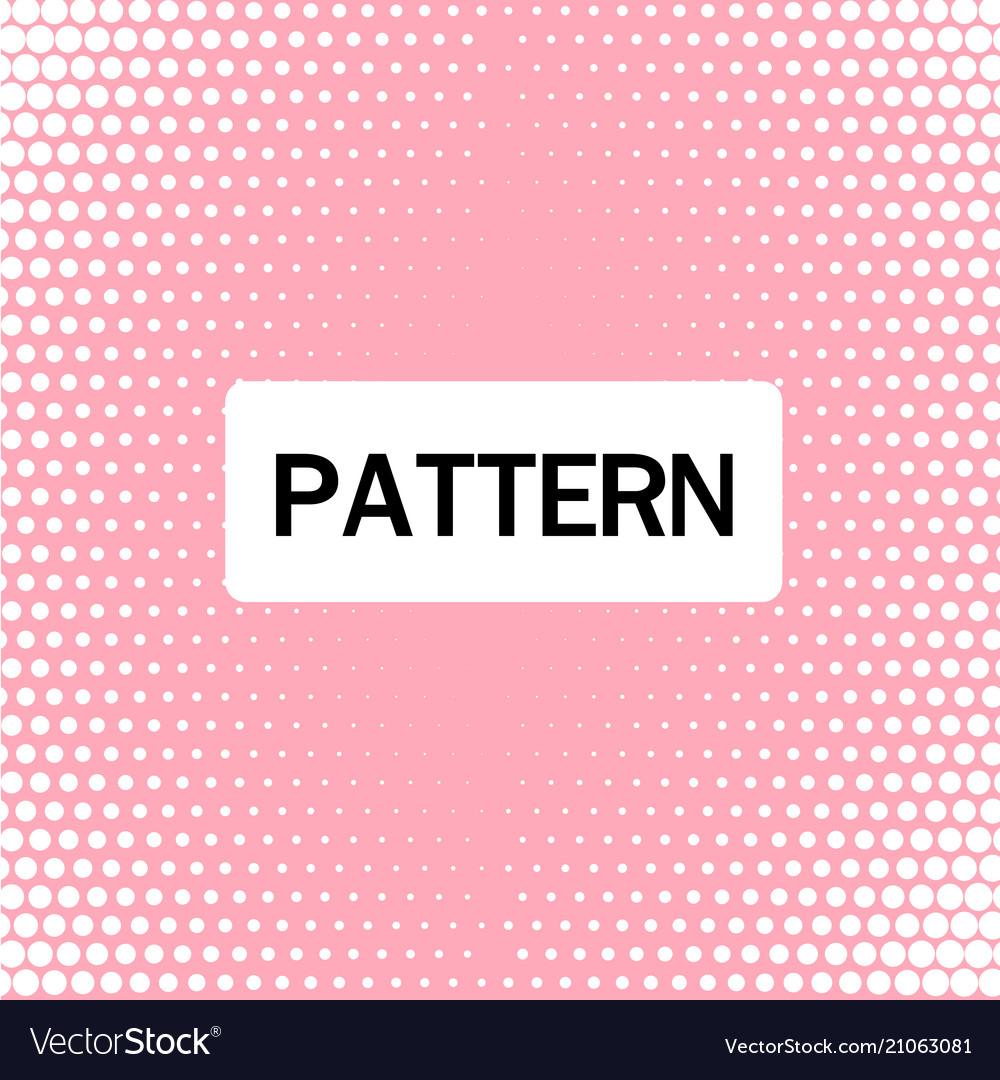 Abstract white dots pattern pink background