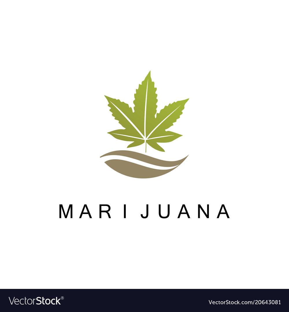 Marijuana medicine logo