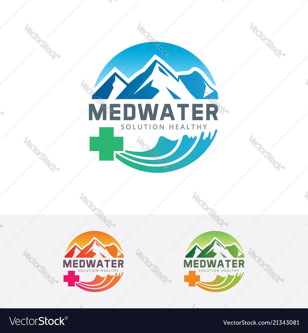 Medical water logo