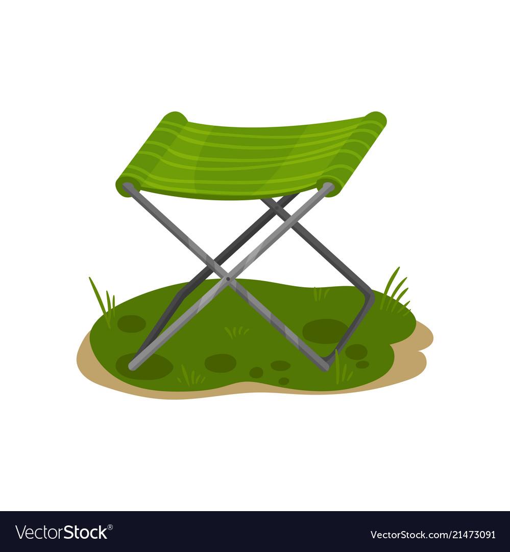 Folding Camp Chair Fishing Green Chair