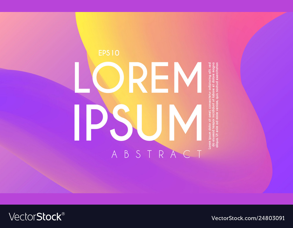 Liquid color abstract 3d background bright space