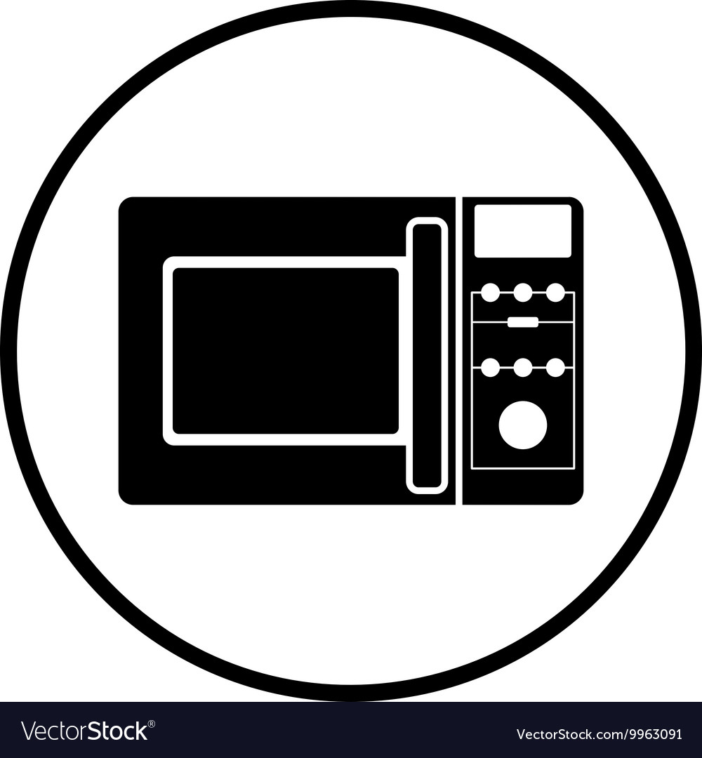 Micro wave oven icon