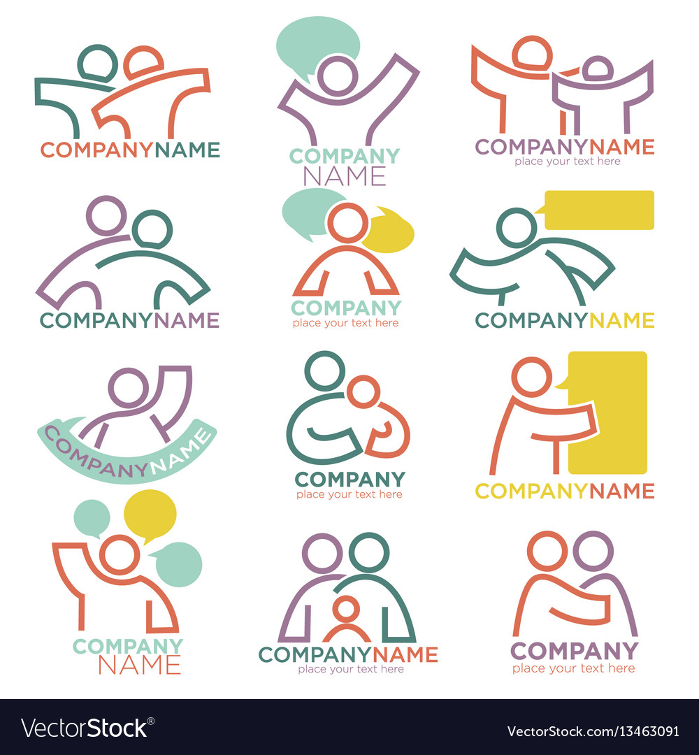 Mother and child care icons for parental vector image