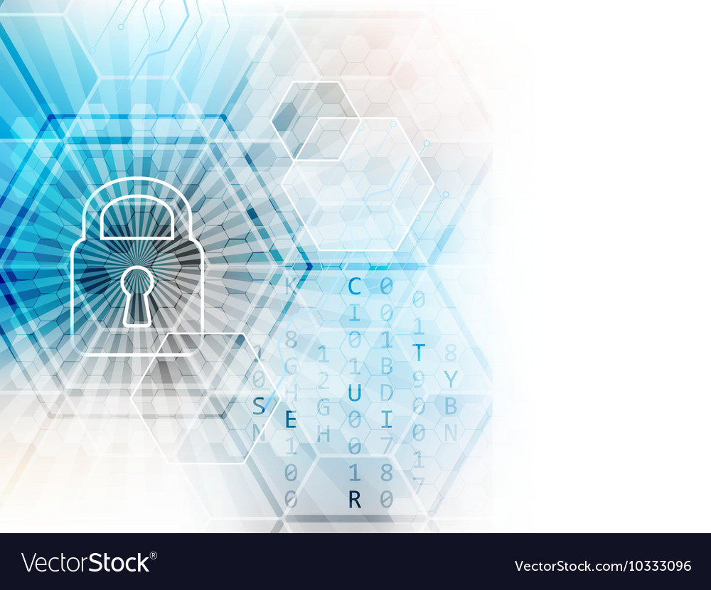 Abstract technological background with global
