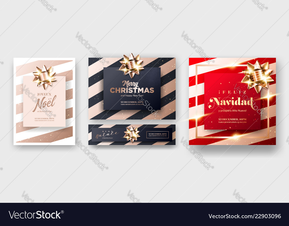 Merry christmas 2019 greeting card cover