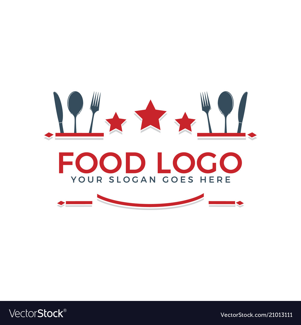 Food logo text logo design
