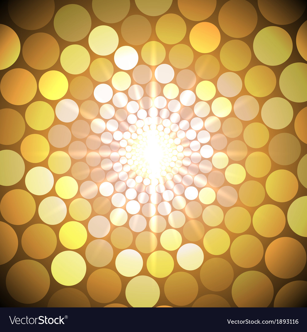 Abstract bright background with circles