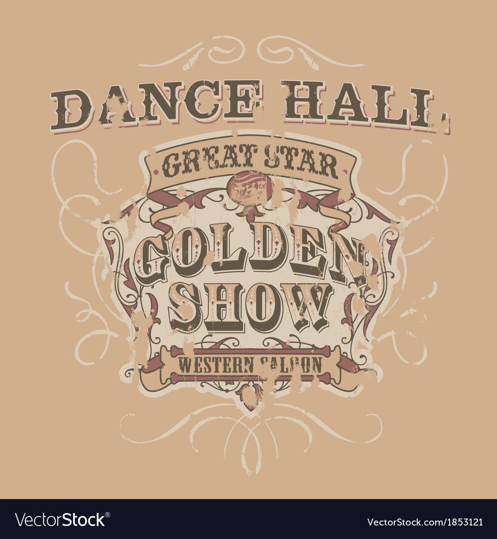 Dance saloon