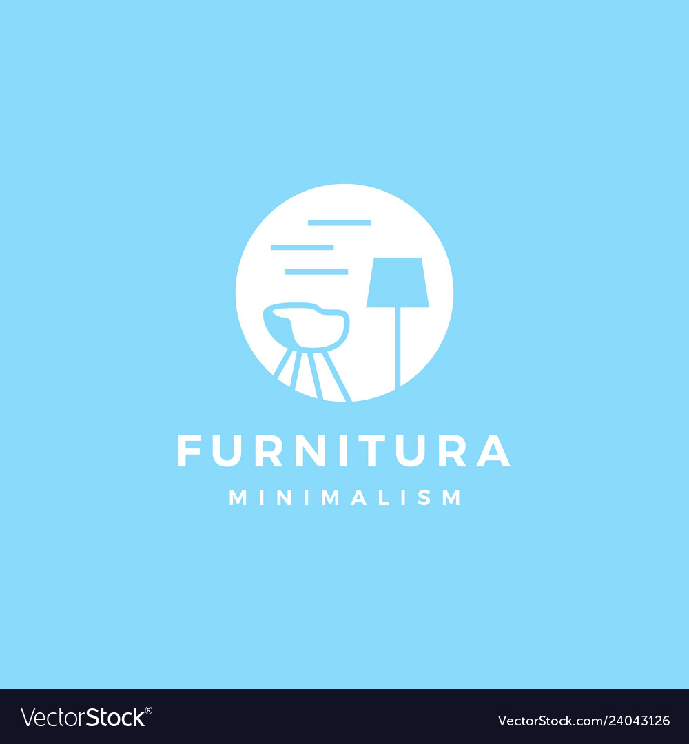 Furniture interior logo icon