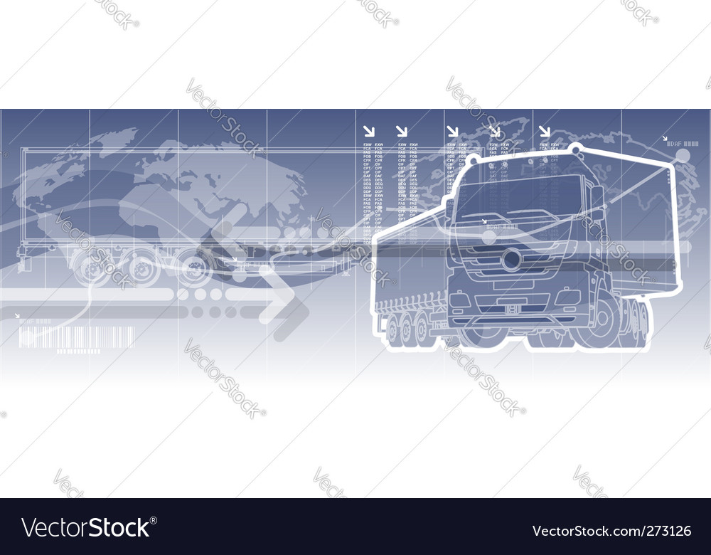 Logistics theme background