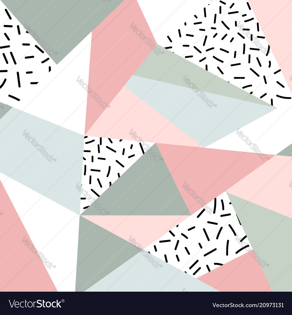 Abstract geometric pattern or background vector image