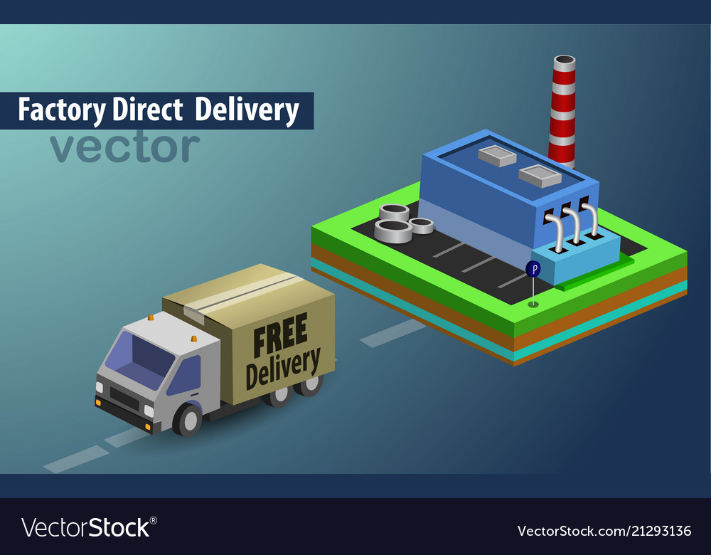 Factory direct delivery