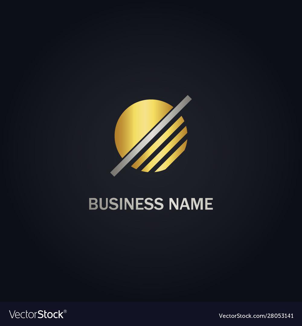 Round line company logo