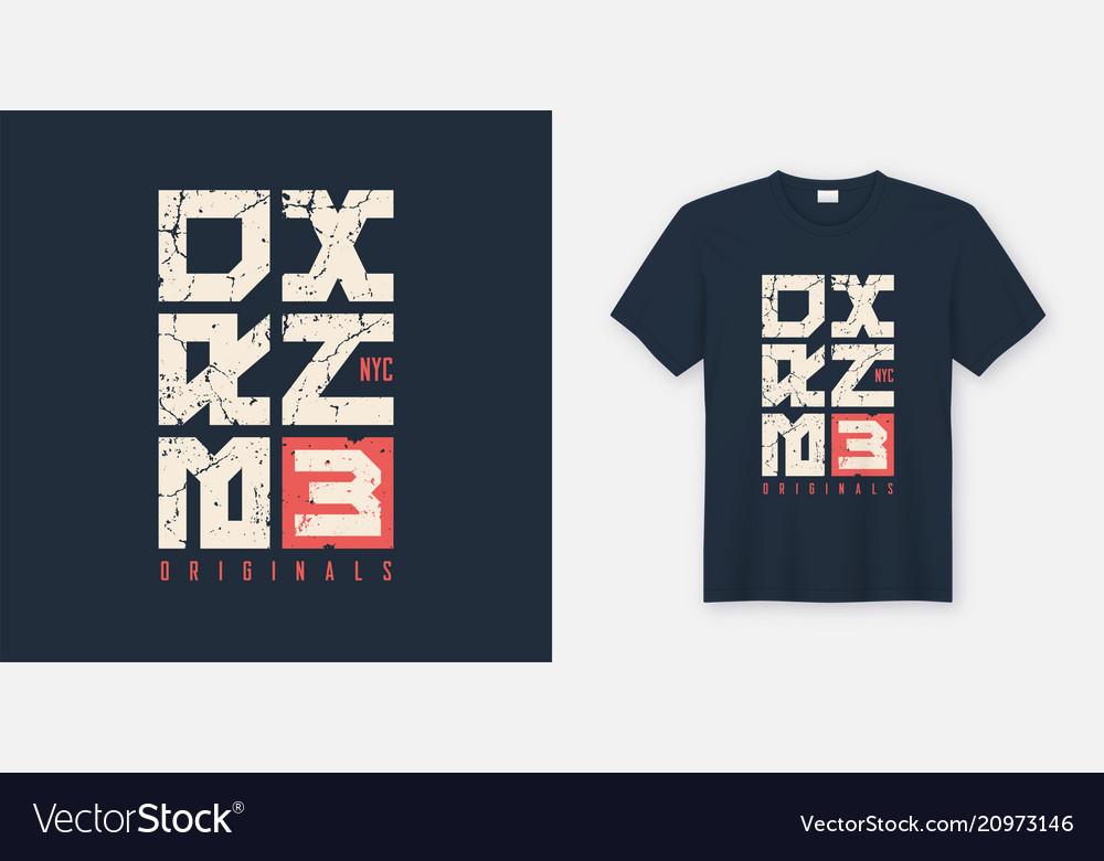 Bronx new york textured t-shirt and apparel design