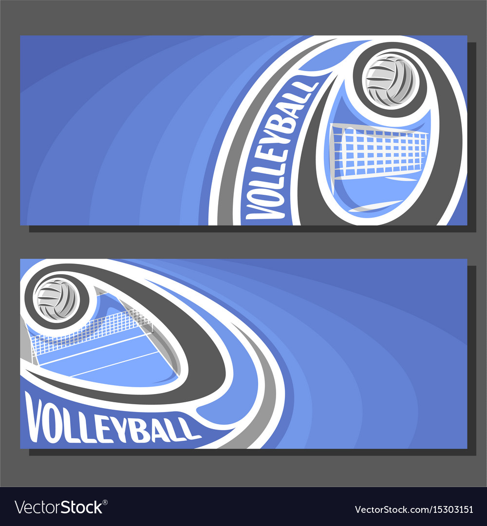Banners for volleyball