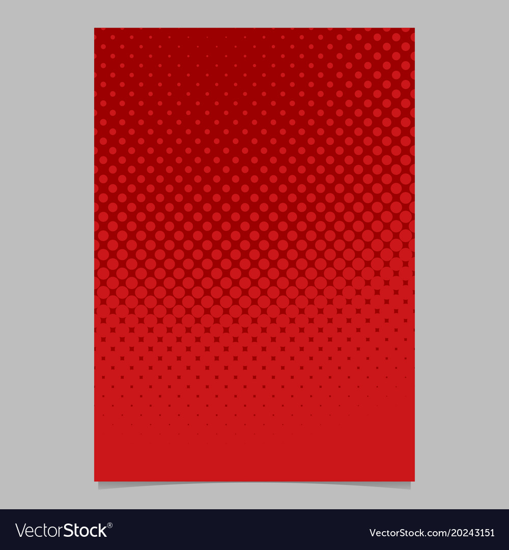 Halftone circle pattern background brochure