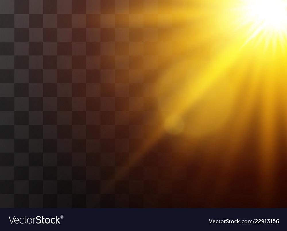 Sunlight light effects