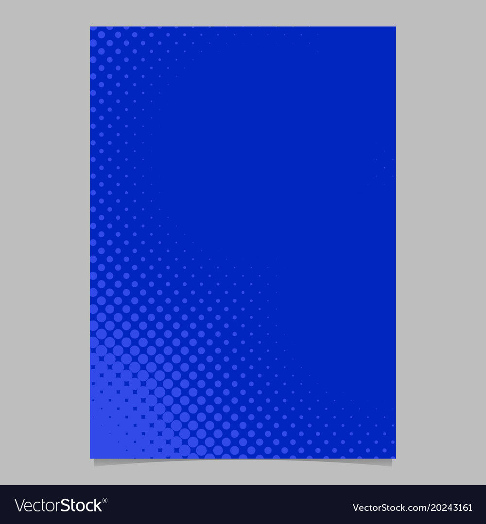Geometrical halftone dot background pattern flyer
