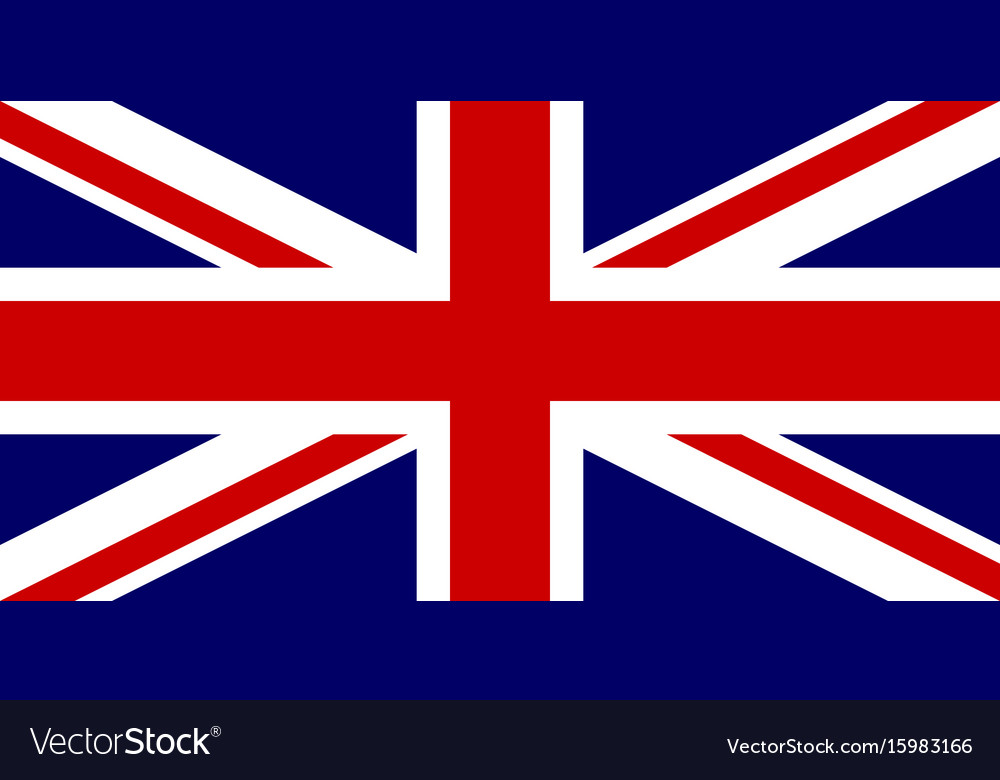 Official flag of united kingdom of great britain