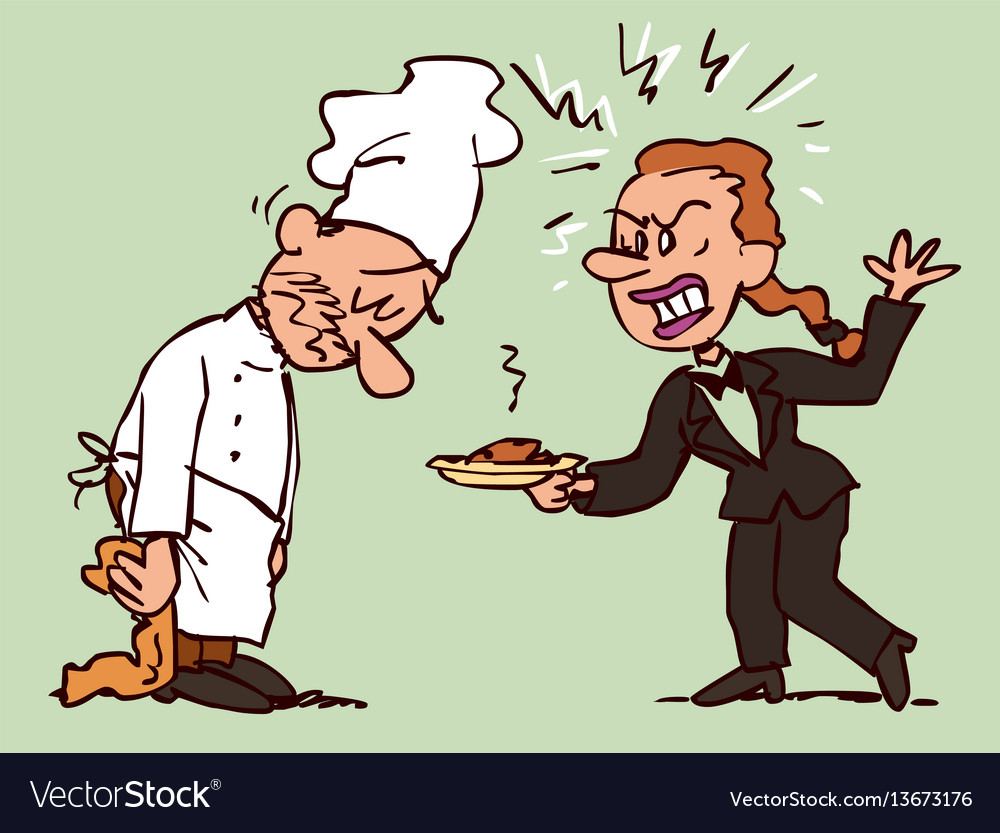 Chef characters in 25 poses and actions
