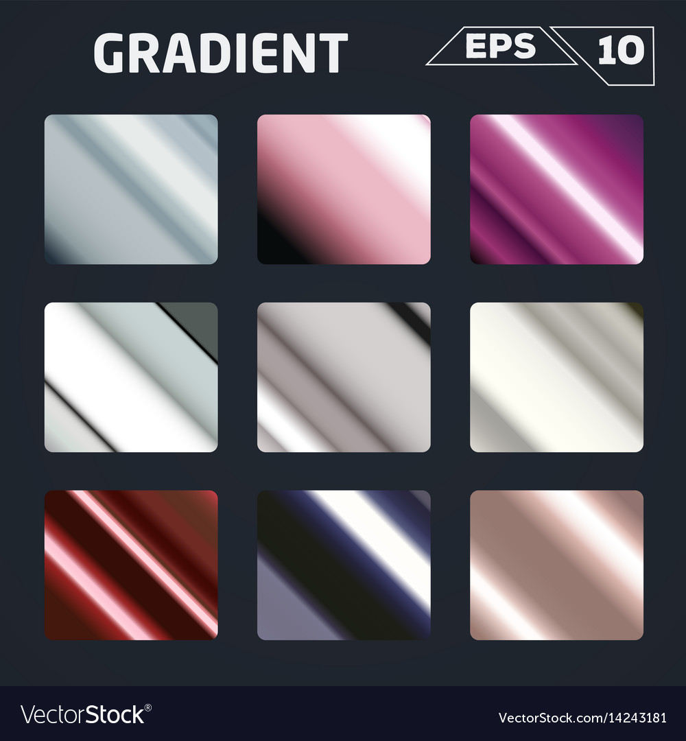 Color gradient set
