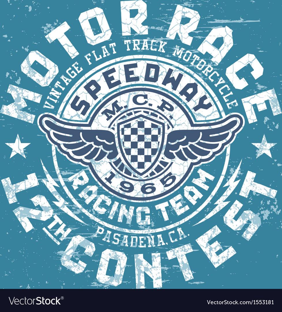 Motor race contest