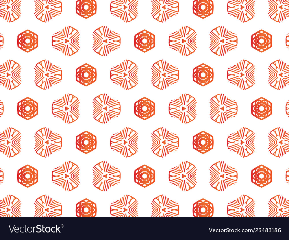 Abstract repeat backdrop with lace floral ornament