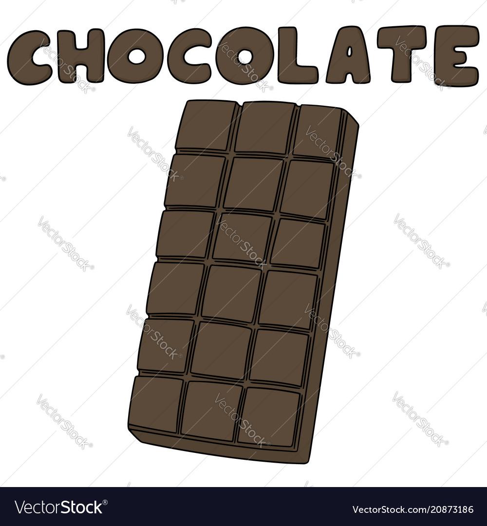 Set of chocolate