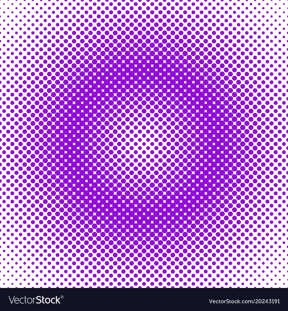 Retro halftone circle pattern background