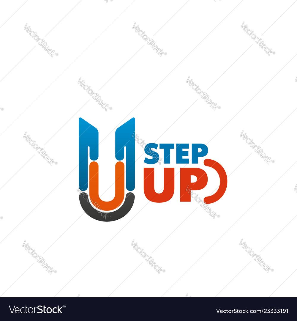 Step up emblem