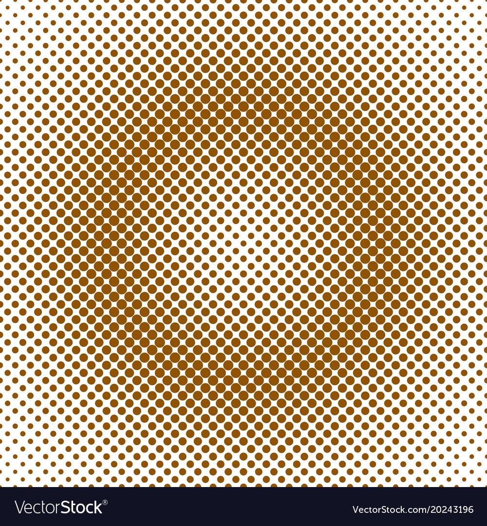 Abstractal halftone dot pattern background
