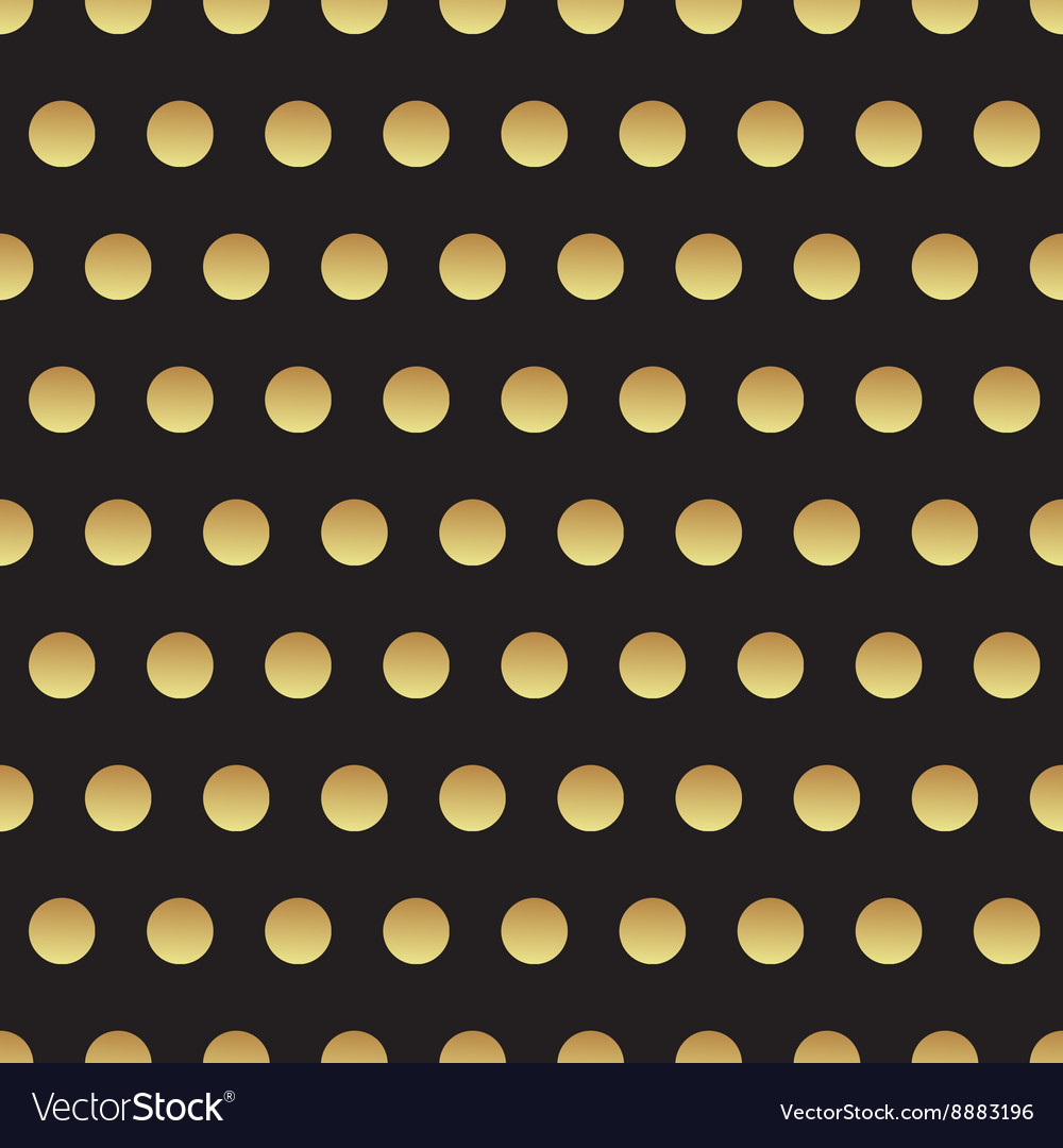Universal black and gold seamless pattern tiling