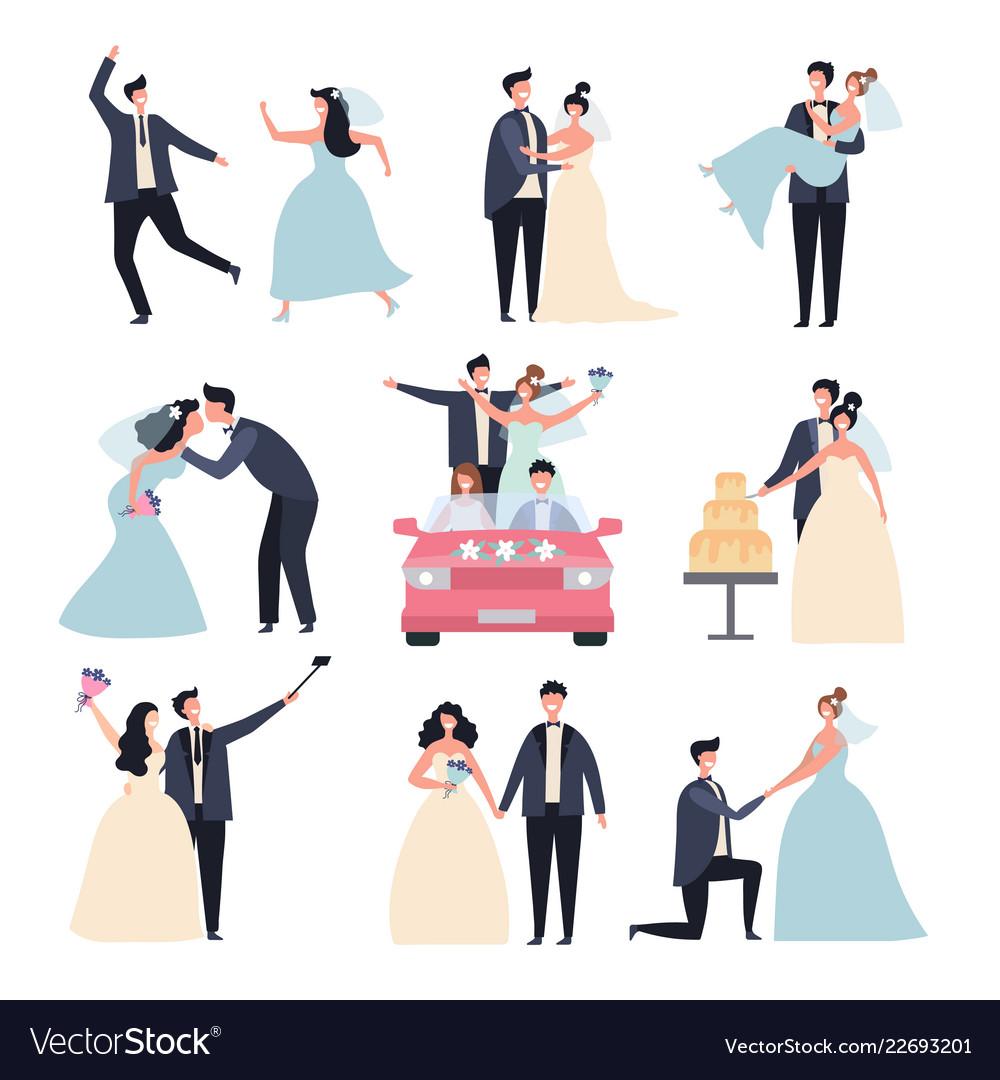 Wedding couples bride ceremony celebration wed