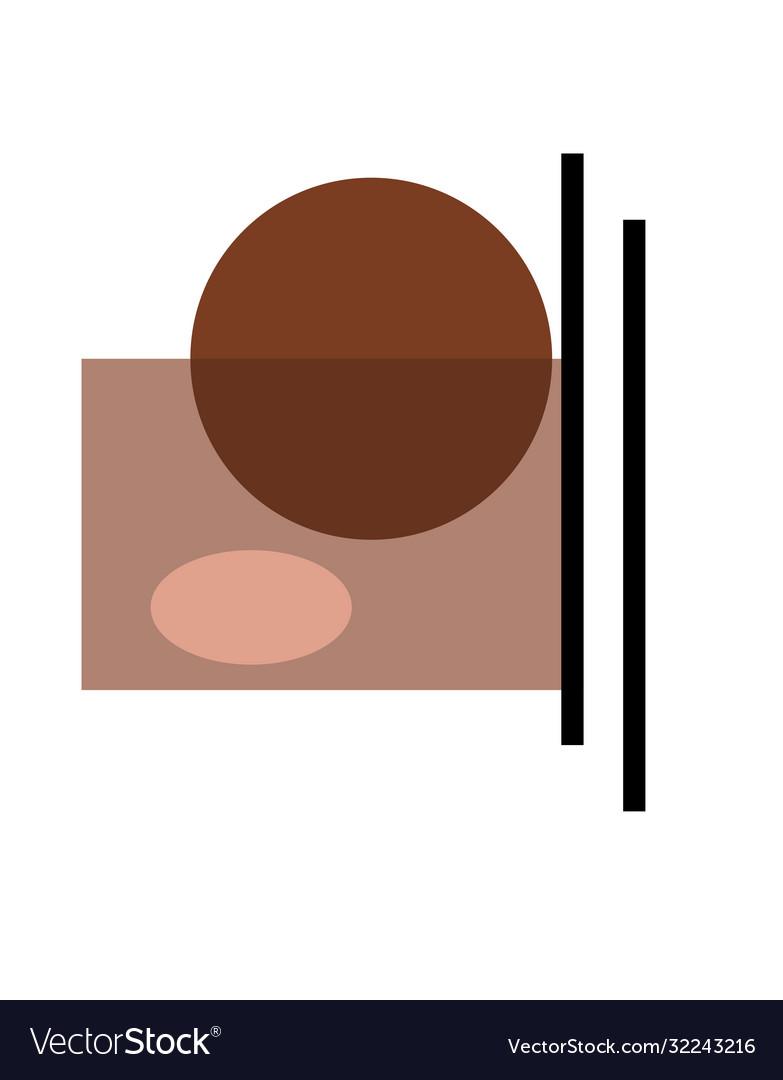Abstract modern design element minimalism trend